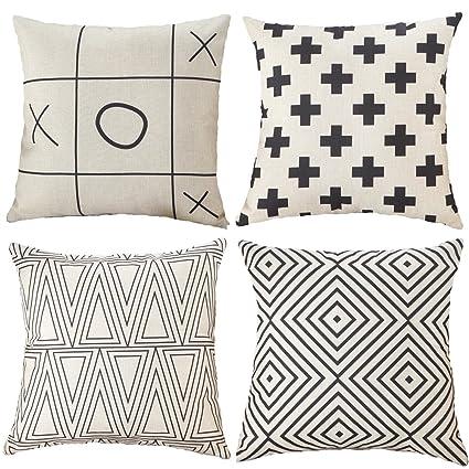 Amazon TongXi Geometric Patterns Cushion Covers Decorative Enchanting Geometric Pattern Decorative Pillows