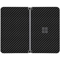 SopiGuard Sticker for Surface Duo Phone Edge-to-Edge Precision Vinyl Skin Wrap (3M Carbon Black)
