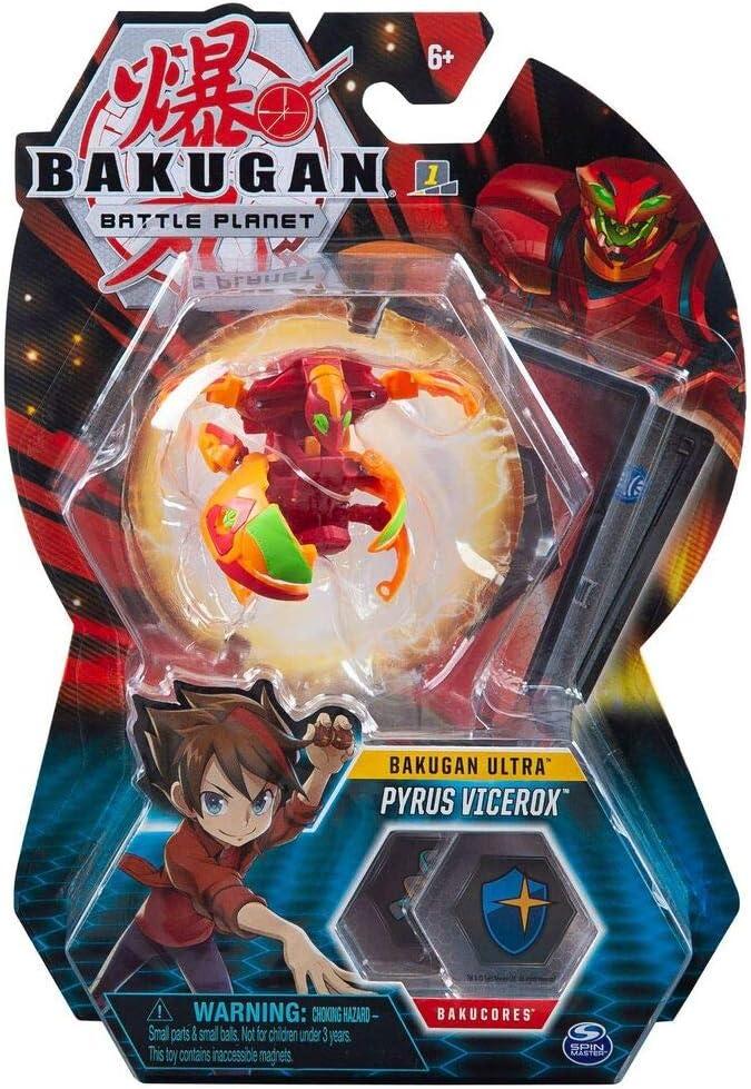 Bakugan Ultra Pyrus Vicerox, criatura transformadora coleccionable ...