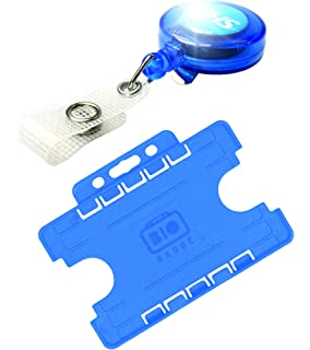 Printed NHS Badge Reel with Single Sided Double Sided Swipe NHS ID Card Holder
