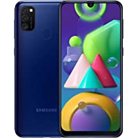 Android Smartphone Samsung Galaxy M21 zonder abonnement, 3 camera's, grote batterij 6000 mAh, 6,4 inch Super AMOLED…