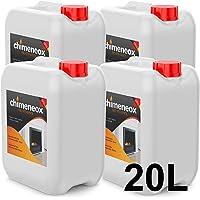 20 Litros Bioetanol 96% origen Vegetal para chimeneas