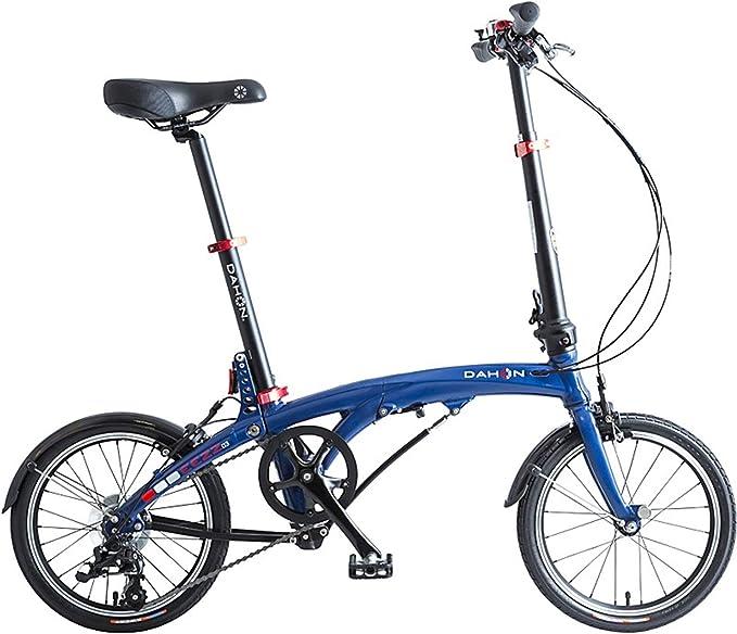 Dahon Eezz D3, Bicicleta Plegable Unisex Adulto, Azul Oscuro, 16 ...