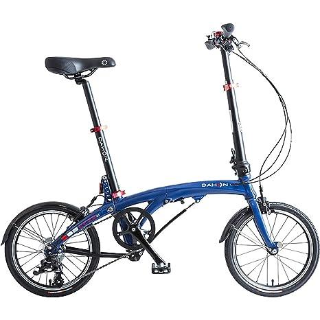 Dahon Bici Pieghevole Prezzo.Dahon Eezz D3 Bicicletta Pieghevole Unisex Adulto Blu Scuro 16
