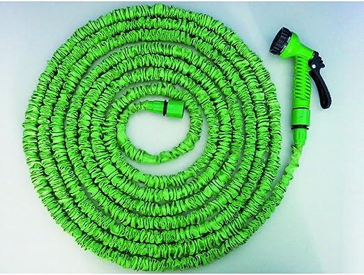 AWN flexible manguera de agua para jardín, Outdoor & Boot, 15 m de largo: Amazon.es: Jardín