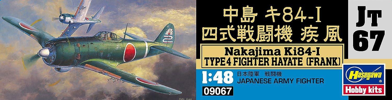 Modelo cuatrimotor F/órmula Gale Combate Nakajima Ki-84-I Escala 1:48 Hasegawa Jap/ón Importaci/ón