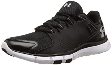 Under Armour Mens Micro G Limitless Trainers 7 US Black/White/Aluminum ( Black