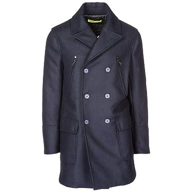 EUBekleidung blu Mantel Jeans Herren 48 Versace RjL54A