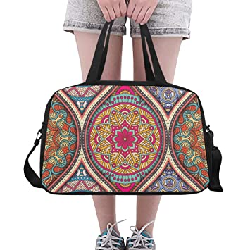 Reopx Mandala Design Art Large Yoga Gym Totes Bolsos de ...