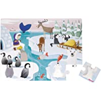 Janod Life On The Ice Dokun Hisset Puzzle, 20 Adet