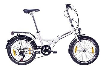 Falt-Fahrrad 6-Gang Kettenschaltung mit Gep/äcktr/äger tretwerk DIREKT gute R/äder Foldo 1.0 20 Zoll Klapprad