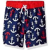 Little Me Baby Boys' Swim Trunks, Anchor, 6-9M