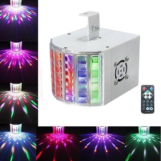 107 opinioni per SOLMORE luci da palco luci da discoteca luci dj luci disco RGB effetti LED 3