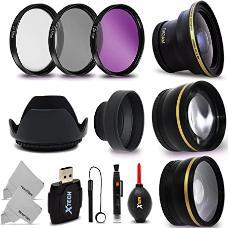 Review 58mm Lens + Accessory