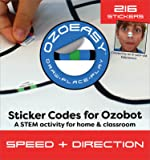 Ozoeasy Sticker Codes (Speed + Direction Pack) for use with Ozobot