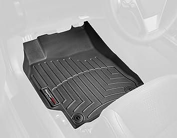 Black WeatherTech Custom Fit Front FloorLiner for Select Dodge Ram Models 442161