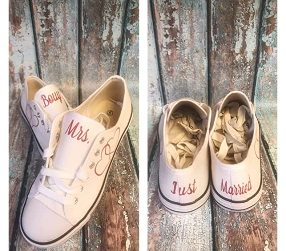 509c2c227a721 wedding reception shoes - wedding reception sneakers - white canvas wedding  shoes - custom wedding shoes - bride shoes - wedding photography props -  bridal ...