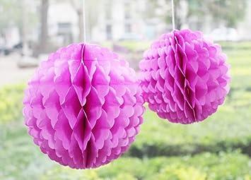 Decorazioni Fai Da Te Per Feste : Daily mall pompon in carta velina palle a nido d ape di e