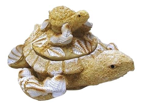 Amazon.com: 1 x náutico Coastal con arena de bebé de tortuga ...