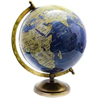 """Decorativo escritorio decoración de la mesa azul color giratoria World Globe 11""""pulgadas Mapa del mundo con soporte por"""" El Sr. Globo """""""