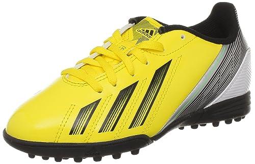 low priced ae441 7e90e adidas F5 TRX TF J, Botas de fútbol para Niños Amazon.es Zapatos y  complementos
