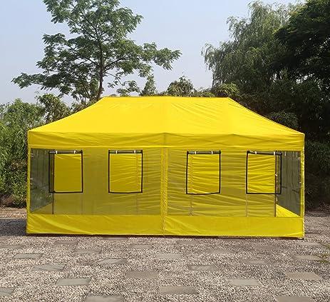 Abccanopy Food Vendor Tent 10x20 Food Vendor Booths 10x20 Food Service Canopy (yellow) & Amazon.com : Abccanopy Food Vendor Tent 10x20 Food Vendor Booths ...