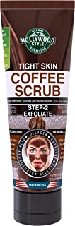 product image for Hollywood Style Tight Skin Exfoliating Coffee Scrub Firmer, Softer, and Silkier Skin Removes Dead Skin Cells, 3.2 fl. Oz.