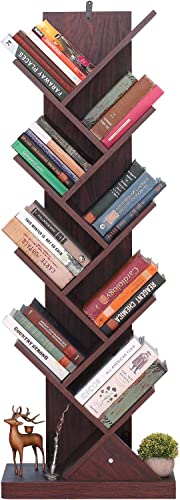 Himimi 9-Shelf Tree Book Shelf
