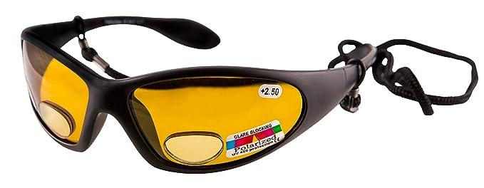 d4dc1c7053 OPTICAID polarizadas pesca ojos/pesca Bifocal gafas de sol UV400 Negro  ámbar + 2, 5: Amazon.es: Ropa y accesorios