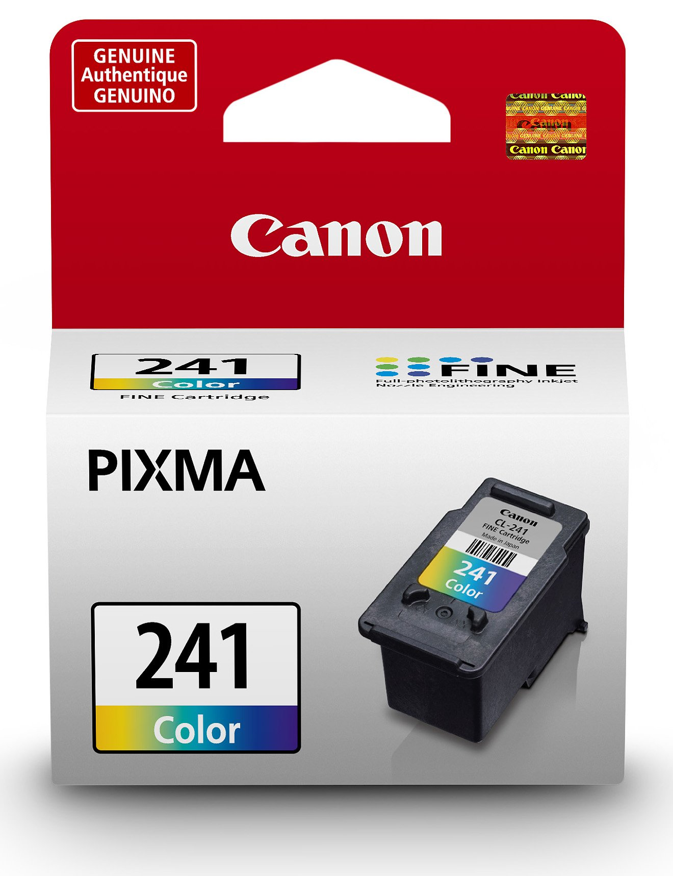 Canon CL-241 Color Ink Cartridge, Compatible to MG3620, MG3520,MG4220,MG3220,MG2220, MG4120,MG3120 and MG2120 by Canon (Image #1)