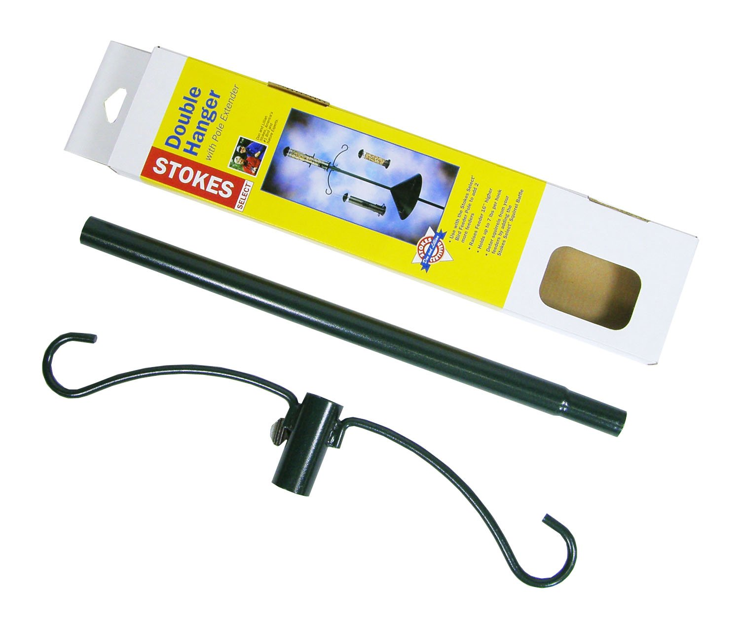 Amazon.com : Stokes Select Metal Double Hanger with 16-Inch Pole ...