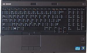 Dell Precision M4700 15in Notebook PC - Intel Core i7-3720QM 2.6GHz 8GB 500GB DVDRW Windows 10 Professional (Renewed)