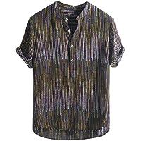 CHENS Camisa/Casual/Unisex/Tamaño Camisa de Verano para Hombre Tallas