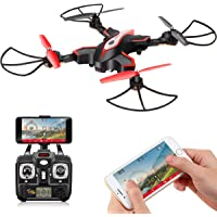 DoDoeleph Syma X56W RC Foldable Quadcopter Drone With HD Wifi Camera