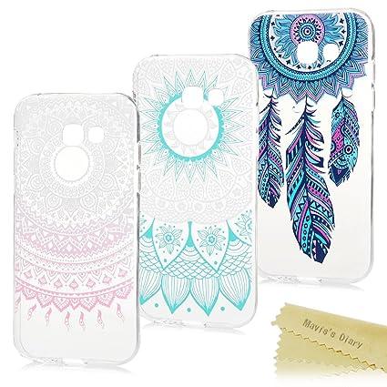 Maviss Diary 3X Funda Silicona para Samsung Galaxy A5 2017, Gel TPU Ultra Slim Suave Cover Carcasa Case Bumpara Shock-Absorción y Anti-Arañazos - ...