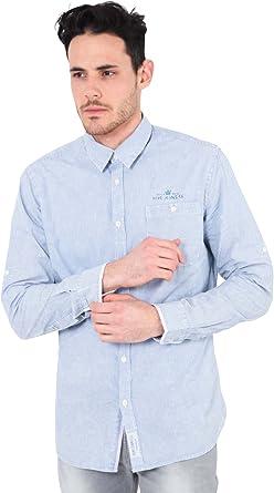 Pepe Jeans Colorado - Camisa Casual de Manga Larga para Hombre, Talla M, Color Multicolor: Amazon.es: Ropa y accesorios