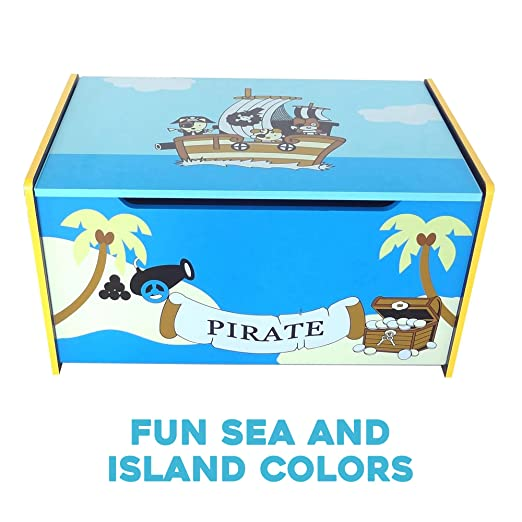 Amazon.com: Bebe Style - Caja de juguete de pirateo de ...