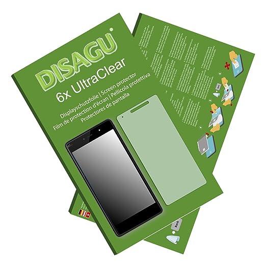 9 opinioni per 6 x Disagu Ultra Clear Pellicola Protettiva per Wiko Fever 4G