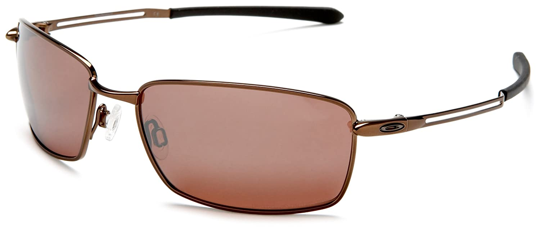 211b070713e Oakley Nanowire 4.0 Burnt Copper vr28 Black Iridium Polarized   Amazon.co.uk  Sports   Outdoors