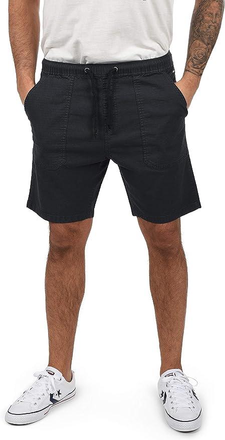 Indicode Francesco Chino Pantalón Corto Bermuda Pantalones De Tela para Hombre Elástico: Amazon.es: Ropa y accesorios