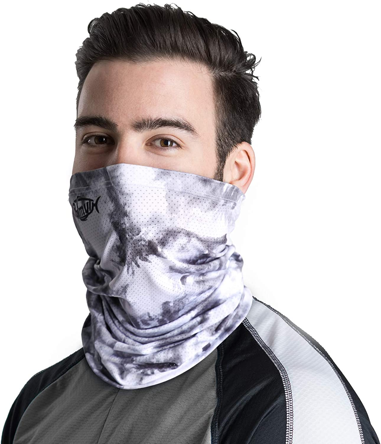 Palmyth Neck Gaiter Fishing Mask Bandana Sun Wind Dust Protection UV UPF 50+ Camo Headwear Balaclava Magic Scarf for Men Women Hunting, Cycling, Motorcycling, Running