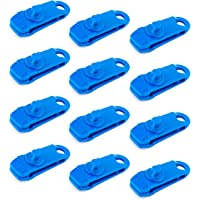 LUTER 12 stuks lanenclips multifunctioneel tentaccessoire tentzeil clips luifelklem voor outdoor tent