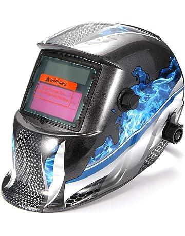 Auto Alimentado Por Energía Solar Oscurecimiento Casco Soldadura Máscara Soldadores arco de alimentación Tig Mig UK