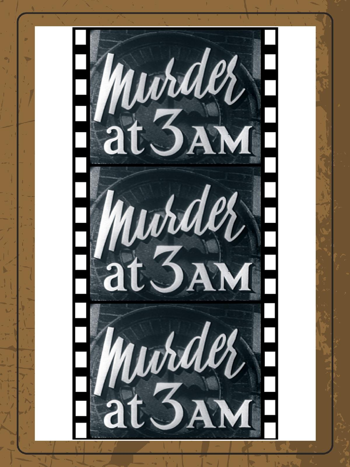 Amazoncom Watch Murder At 3 Am Prime Video