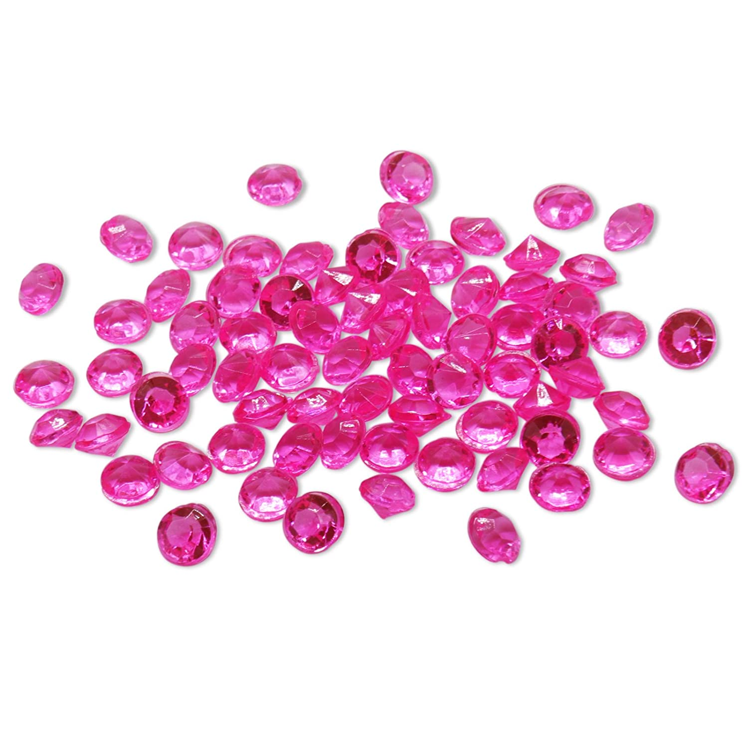 BITFLY 4.2mm 1/3 Carat Pack of 10000pcs Acrylic Crystal Diamond For Vase Fillers, Party Table Scatter, Wedding, Photography, Party Decoration, Crafts DIY Project BIT.FLY D11
