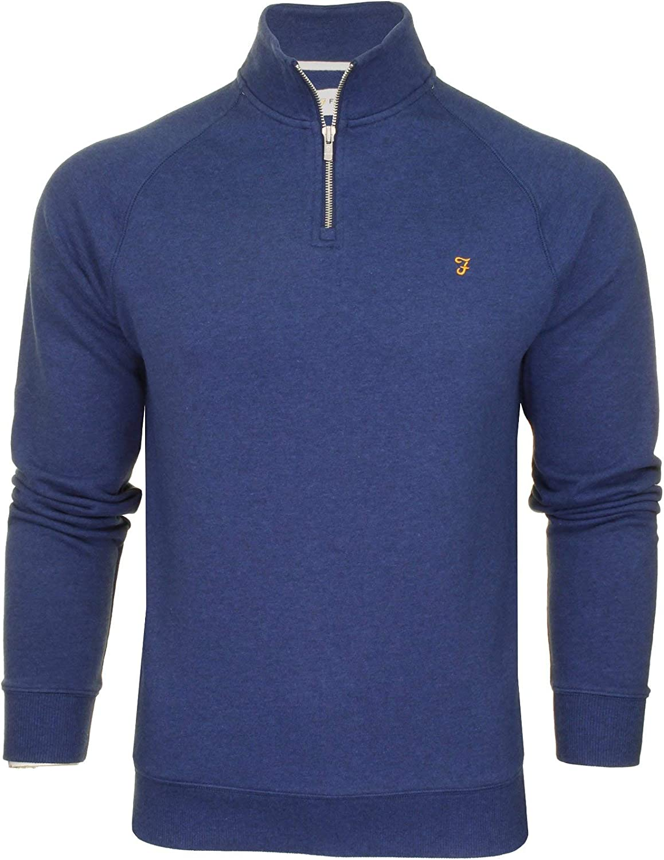 FARAH® Herren Sweatshirt 909 Ultramarine Marl
