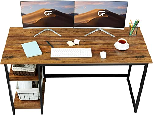GreenForest Computer Desk 55″ Home Office Writing Table
