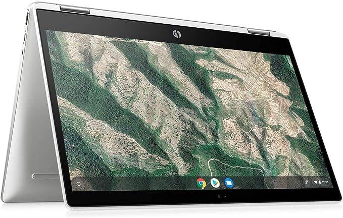 HP 2-in-1 Convertible Chromebook, 14inch HD Touchscreen, Intel Quad-Core Pentium Silver N5030 Processor Up to 3.10GHz, 4GB Ram, 128GB SSD, Intel UHD Graphics, Webcam, Chrome OS(Renewed (14inch/128GB) | Amazon