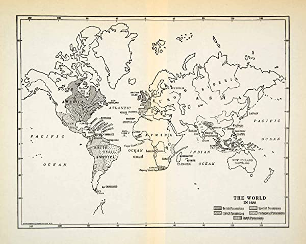 1931 print world map 1688 africa india russia asia north south 1931 print world map 1688 africa india russia asia north south america bombay relief line gumiabroncs Gallery