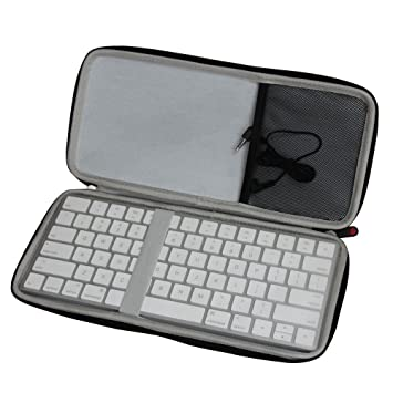 57c8ec62e57 Hermitshell Travel EVA Protective Case Carrying Pouch Cover Bag Compact  size for Apple Magic Keyboard MLA22LL